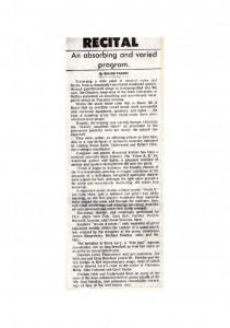Roger Paris, Buffalo Evening News, 9.05.1978