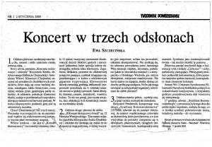 Szczecińska - koncert klawesynowy